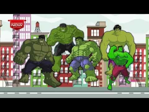 Hulk | SuperHero Finger Family Nursery Rhymes | Cartoons Finger Family Collection | English