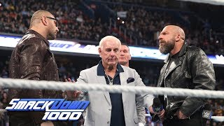Batista takes a dig at Triple H during Evolution's reunion: SmackDown 1000, Oct. 16, 2018