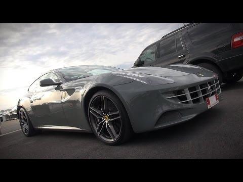 Unique color/wrap on two Ferrari FF's | V12 ENGINE STARTUPS |
