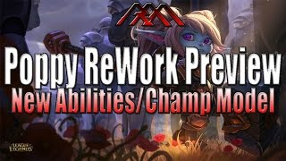 Poppy ReWork Preview - New Abilities - League of Legends