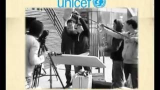 110618 [UNICEF] Promotion Vid [Behind the Scenes + Music Video]