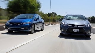 2015 Honda Civic vs. 2015 Toyota Corolla - Kelley Blue Book