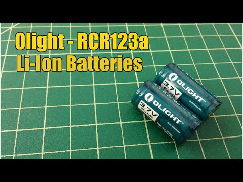 Olight - Rcr123a Li-Ion Rechargeable Batteries - TheSmokinApe