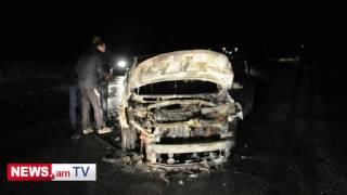 Խոշոր վթար Լոռիում  երեք մեքենաներն ամբողջությամբ այրվել են
