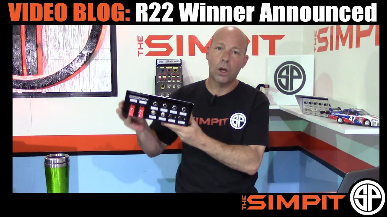 Video Blog: Ricmotech R22 Button Box Giveaway Winner Announcement
