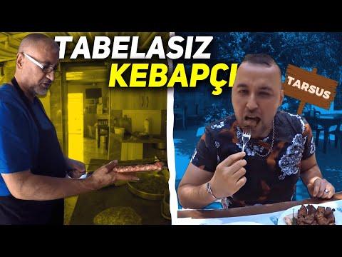 Tabelası olmayan 4 saatlik kebapçı | Sokak lezzetleri-Tarsus