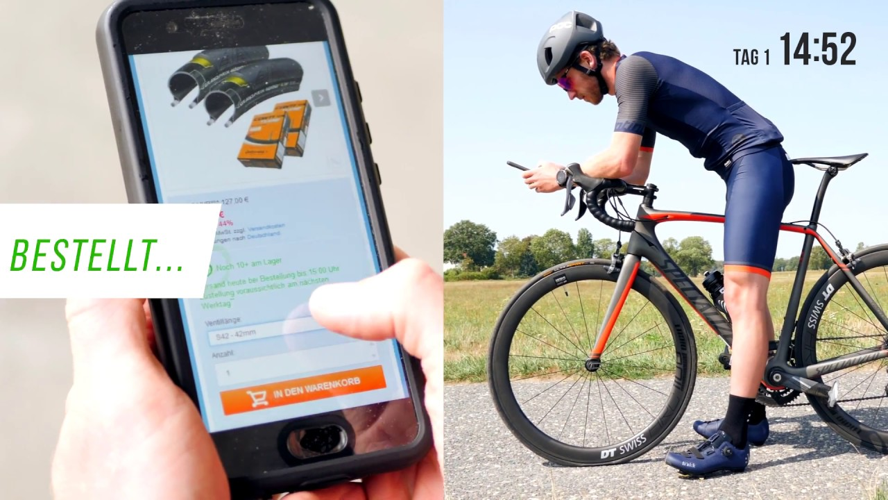 Bike24 - Delivery and Product Availability