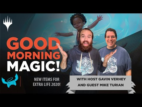 A NEW Secret Lair, Uncut Sheets, & More: Magic for Extra Life! | Good Morning Magic w/ Mike Turian