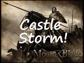 Mount & Blade - Storming a Castle!!