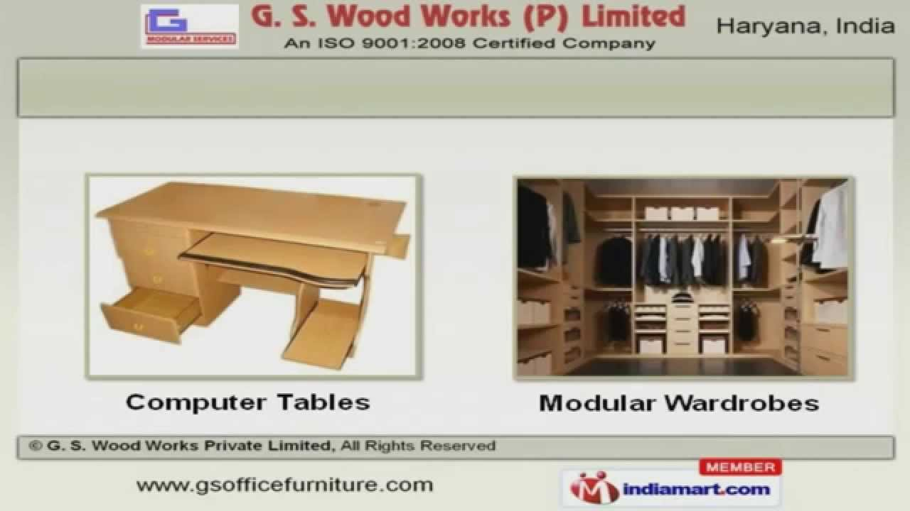 Modular Furniture By G. S. Wood Works Private Limited, Faridabad