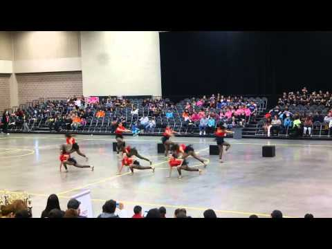 Lopez High School Golden Stars Officer Jazz at ShowTime Dance Competition 2015
