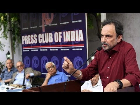 Prannoy Roy of NDTV on the CBI raids