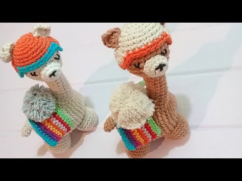 Amigurumi Llama - A Free Crochet Pattern - Grace and Yarn | 360x480