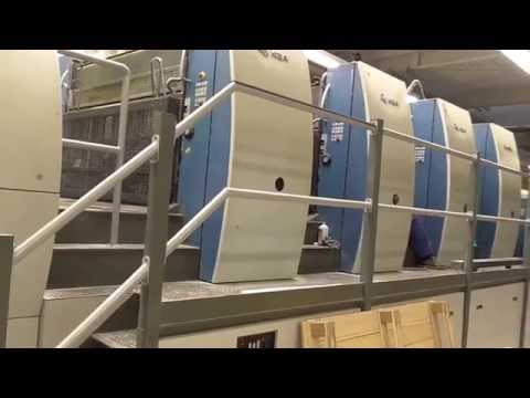 KBA Rapida 162a-4 SW2 offset printing press