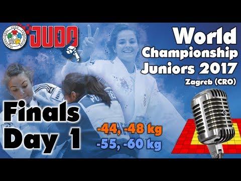 World Judo Championship Juniors 2017: Day 1 - Final Block