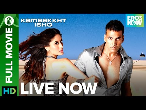 Kambakkth Ishq | Full Movie LIVE on Eros Now | Akshay Kumar, Kareena Kapoor, Amrita Arora & Aftab thumbnail