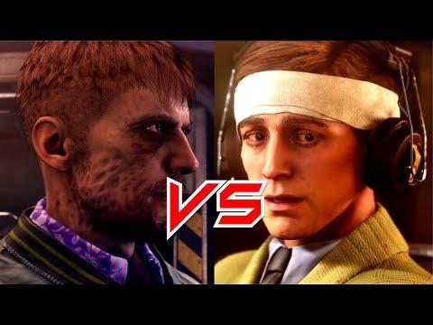 Wolfenstein 2 The New Colossus - Fergus Arm vs Wyatt Ear First Reaction