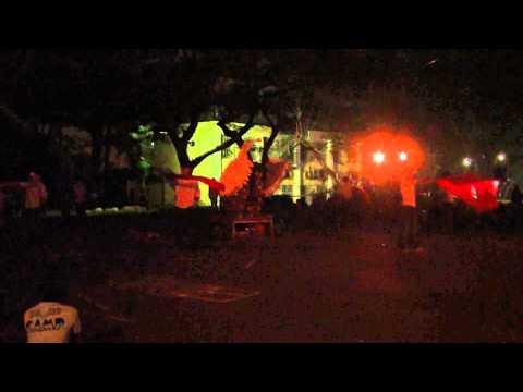 2014 聯會 和平廣場 開場-旗舞