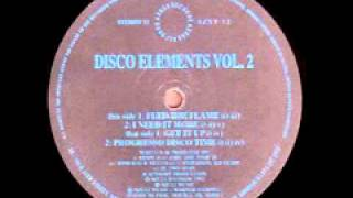 "Disco Elements Vol. 2 ""Feed The Flame"" 1992"