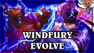 Evolve and Windfury ~ The Witchwood Hearthstone