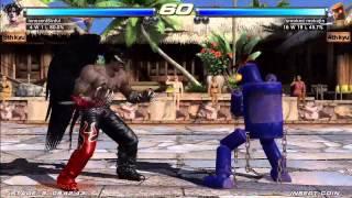 Tekken Tag Tournament 2 (Xbox 360) Arcade as Devil Jin