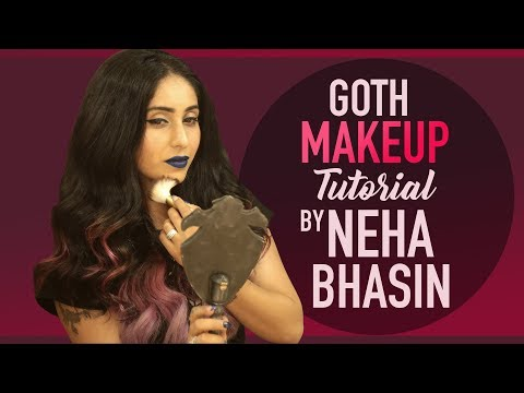 GRWM: Neha Bhasin's Goth Makeup Tutorial |...