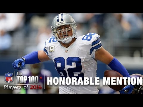 Honorable Mention: Jason Witten (TE, Cowboys) | Top 100 Players of 2016