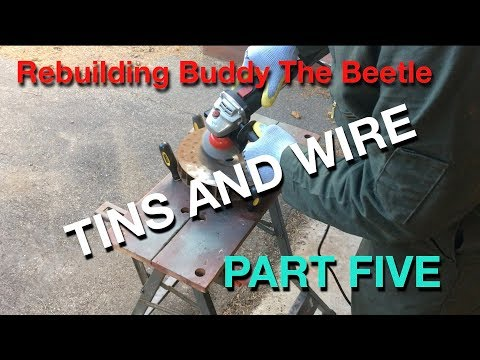 Buddy the Beetle restoration part 5 | Cleaning and painting Engine tins | Volkswagen imprint