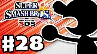 Super Smash Bros. 3DS - Gameplay Walkthrough Part 28 - Mr. Game & Watch! (Nintendo 3DS Gameplay)