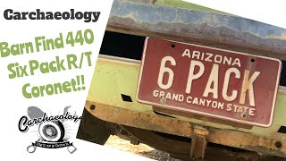 Carchaeology: Barn Find 70 Coronet R/T 440 Six Pack