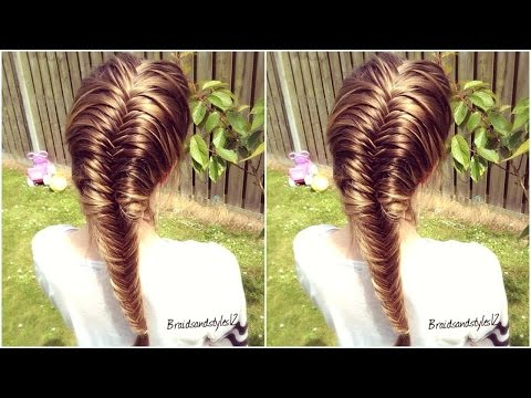 How to: French Fishtail Braid for Beginners 2020