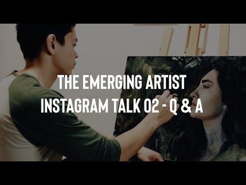 Emerging Artist Talk - Instagram Live Q & A 02 - Listen While you Paint : Kelogsloops says Hi Mp3