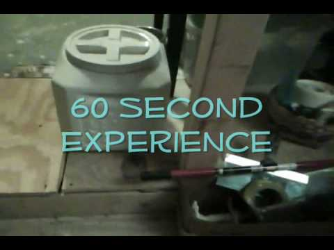 60 second Experience - Dog Food Storage Container