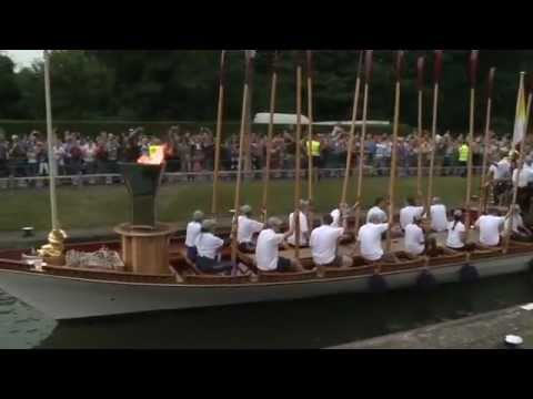 Olympic Torch Relay on the Thames - a Port of London Authority Film