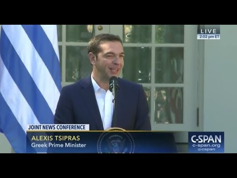 Awkward: Greece PM Alexis Tsipras Asked About Previously Calling Trump