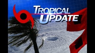 Tropical Update Evening 60mph winds in Kirk now 9/26/18