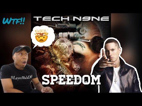 *Classic Eminem* Tech N9ne (Speedom) Ft Eminem & Krizz Kaliko [REACTION]