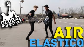 SOCCER SKILL TO BEAT PLAYER - AIR ELASTICO TUTORIAL