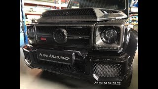Brabus G900 meets ALPHA ARMOURING®