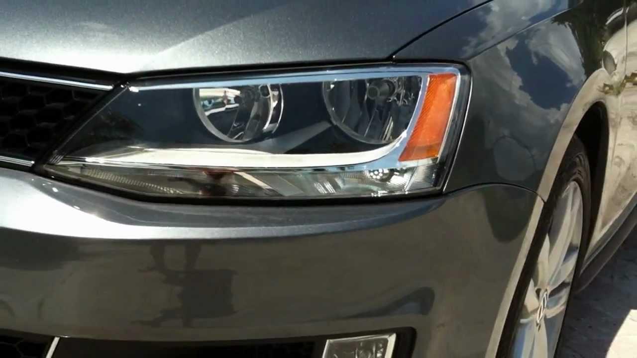 2012 Volkswagen Jetta Gli Led Daytime Running Lights Youtube