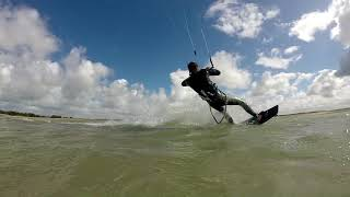 Seul au bout du Monde - KiteSurf - La vanlée - Manche - 15/09/2017