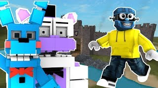 FUNTIME FREDDY PLAYS ROBLOX! FNAF Sister location funtime freddy and RG play Roblox!