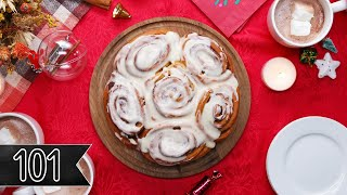 How To Make Homemade Cinnamon Rolls • Tasty