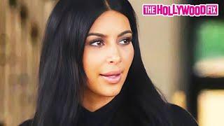 Kim Kardashian Goes Shopping At Barney