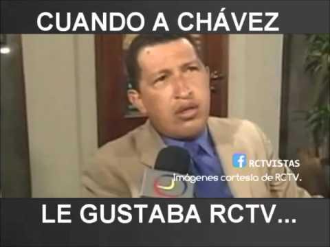 Cuando a Chávez le gustaba RCTV