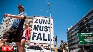 #ZumaMustFall Giant billboard gets Cape Town talking