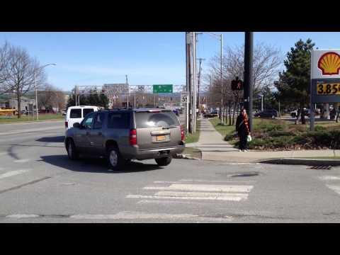 President Obama Motorcade at the University of Vermont