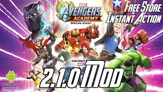 MARVEL Avengers Academy 2.1.0 Mod (Free Store, Instant Action, Free Upgrade) APK
