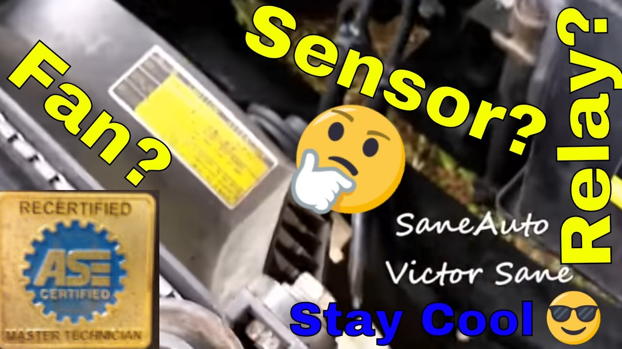 medium resolution of how to 1997 2001 toyota camry overheating fans