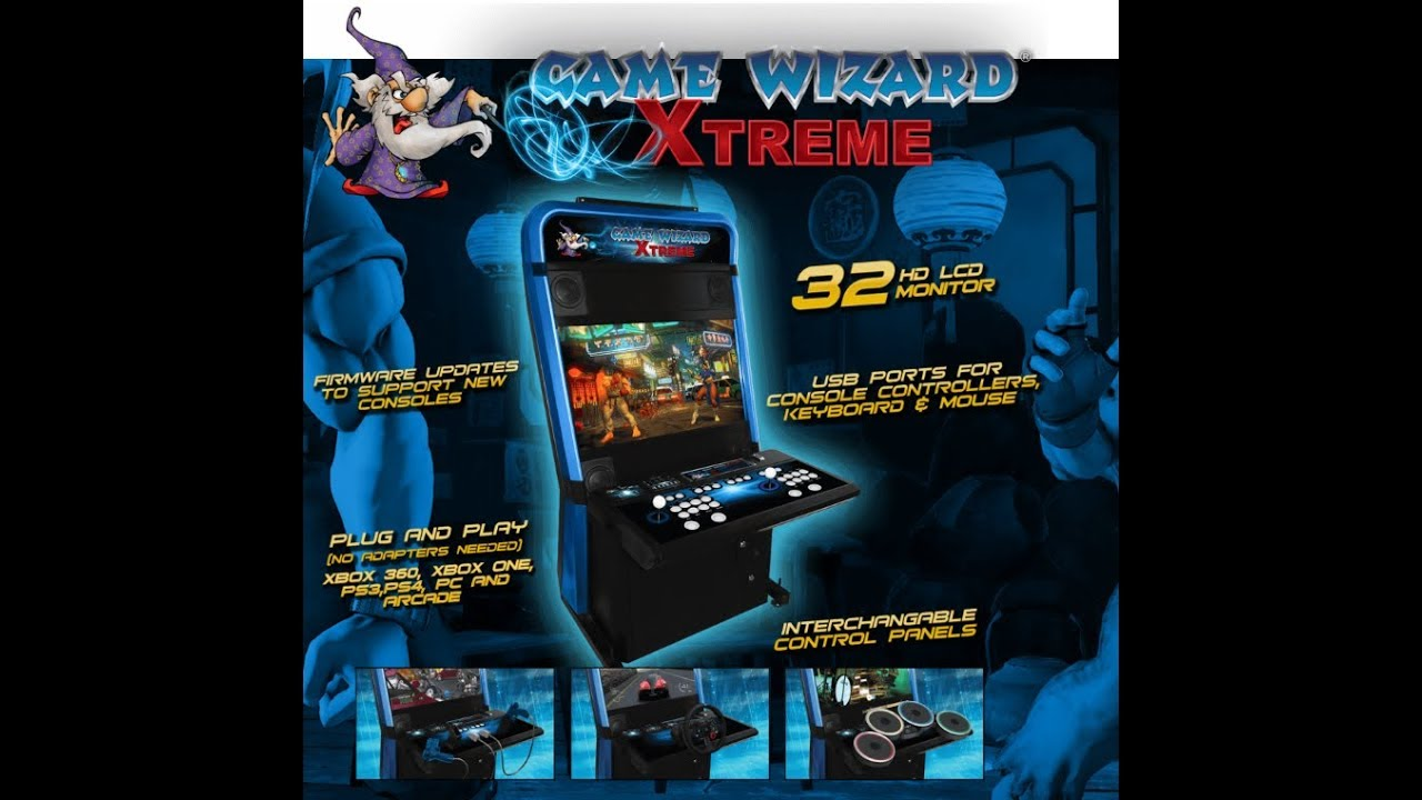 Game Wizard Xtreme New Old School Gaming On One Machine Youtube